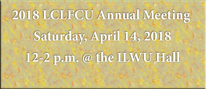 LCLFCU Annual Meeting